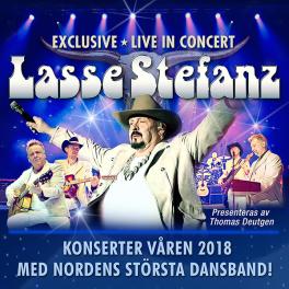 Äntligen – Lasse Stefanz gör konsertturné!