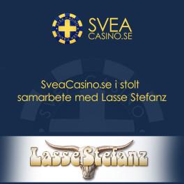 Sveriges bästa casinoguide blir officiell partner till Nordens största dansband Lasse Stefanz.